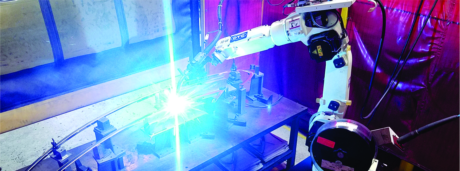 Robotic Spot Welding for Automotive Parts Manufacturing
