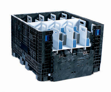 Returnable Shipping Tote Automotive Parts
